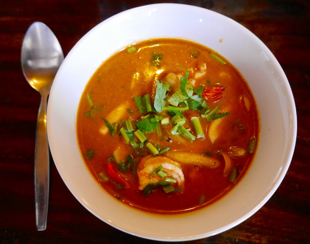 Traditional Thai Soup with Prawns (Tom Yum Goong) - - Andrea's ...